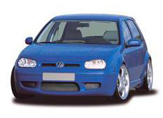 CARACTERE spoiler pod originální přední nárazník pro VW Golf 4