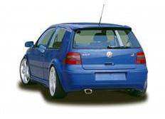 CARACTERE spoiler pod originální zadní nárazník pro VW Golf 4