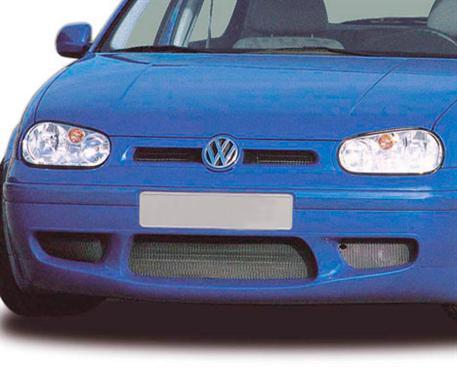 CARACTERE maska chladiče s logem RS pro VW Golf 4