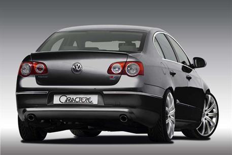CARACTERE spoiler víka kufru verze Classic pro VW Passat 3C