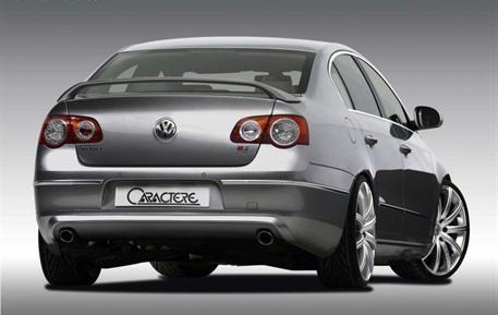 CARACTERE spoiler víka kufru vyšší verze Sport pro VW Passat 3C