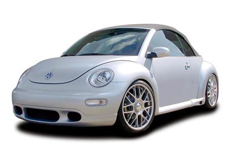 CARACTERE spoiler pod originální přední nárazník pro vozy bez mlhových světlometů pro VW New Beetle