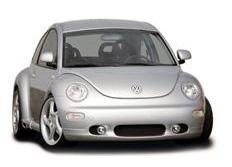 CARACTERE spoiler pod originální přední nárazník pro vozy s mlhovými světlomety pro VW New Beetle