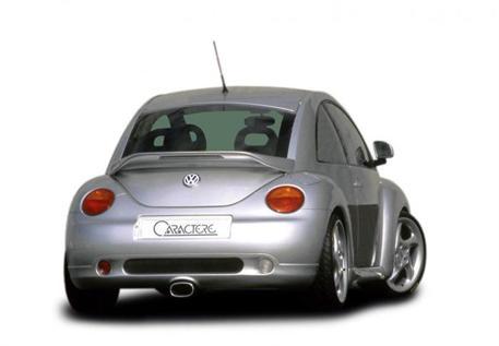 CARACTERE spoiler pod originální zadní nárazník včetně koncovky výfuku pro VW New Beetle