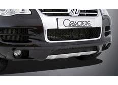 CARACTERE spoiler pod originální přední nárazník pro vozy s mlhovými světlomety pro VW Touareg 7P