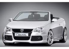 CARACTERE spoiler pod originální přední nárazník pro vozy s mlhovými světlomety pro VW Eos
