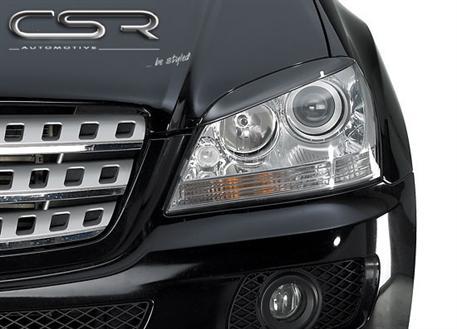 Mračítka předních světlometů Mercedes Benz ML W164 Facelift