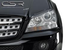 CSR mračítka předních světlometů Mercedes Benz ML W164 Facelift