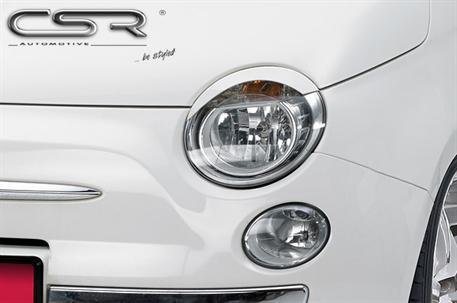 Mračítka předních světlometů Fiat 500