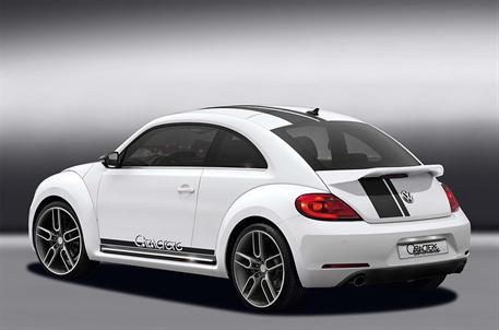 CARACTERE spoiler víka kufru s horní částí v carbonovém vzhledu pro VW Beetle