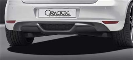 CARACTERE spoiler pod originální zadní nárazník pro motory 1,4TSI 59kw / 1,6L 75kw pro VW Golf 6