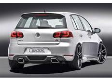 CARACTERE spoiler pod originální zadní nárazník pro motory 1,2L / 1,6TDI pro VW Golf 6