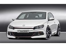 CARACTERE spoiler pod originální přední nárazník pro VW Scirocco