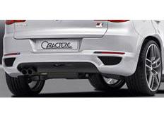 CARACTERE spoiler pod originální zadní nárazník s PDC a s tažným zařízením pro VW Tiguan