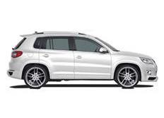 CARACTERE sada pro rozšíření blatníků pro vozy bez PDC pro VW Tiguan