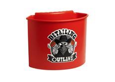 Detailing Outlaws Buckanizer - organizér na kbelík, červený