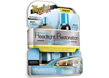 Meguiar's Perfect Clarity Headlight Restoration Kit - revoluční sada na oživení světlometů