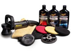 """Meguiar's DA Ultimate Kit 6"""" - kompletní 6palcová sada pro strojní renovaci, leštění a voskování laku"""