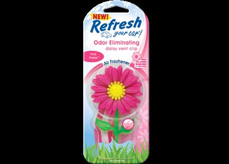 Osvěžovač vzduchu HandStands, vůně Refresh Daisy Pink Petals - květina do ventilace