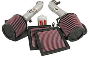 K&N vzduchové filtry