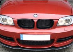 Kerscher lipa s pravého karbonu pod originální přední nárazník pro BMW řady 1 (E82/E88) se sportovním paketem M
