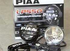 Přídavné kulaté LED světlomety PIAA LP550 o průměru 131mm