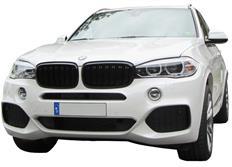 Ledvinky přední masky s dvojitým žebrováním pro BMW X5 F15 (2013-) / X6 F16 (2014-)