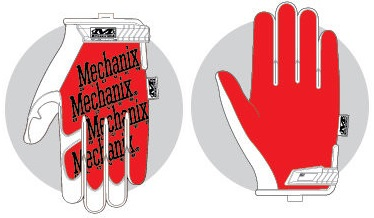 c9cbaf3986d Thermal Plastic Rubber manžeta pro bezpečné uchycení k zápěstí - vyztužený  panel na palci pro větší odolnost - rukavice Mechanix The Original® lze  prát v ...