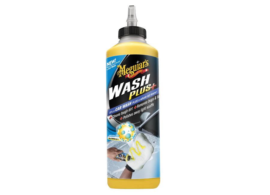 Meguiar's Car Wash Plus+ - revoluční, vysoce koncentrovaný šampon na odolné nečistoty, 709 ml