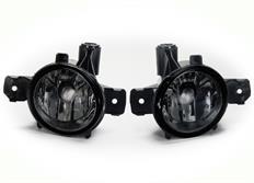 Mlhové světlomety JOM pro BMW řady 1 E81/ E82/ E83/ E84/ E87/ E88, čiré kouřové