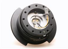 NRG odpojovač volantu Generation 2.5 - černý s černým kroužkem