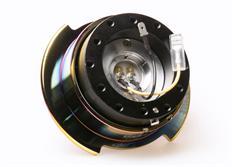 NRG odpojovač volantu Generation 2.5 - černý s neochrome kroužkem