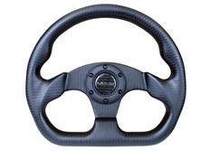 NRG sportovní volant Carbon Fiber s průměrem 320 mm v matném karbonovém provedení