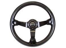 NRG celokarbonový sportovní volant Carbon Fiber s průměrem 350 mm