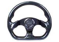NRG sportovní volant Flatt Bottom s průměrem 320mm v karbonovém provedení
