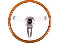 NRG sportovní volant Vintage Wood s průměrem 365 mm, dřevěný s leštěným středem