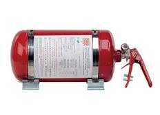 OMP hasicí systém s man. spouštěčem a ocelovou nádobou, 4,25 litru