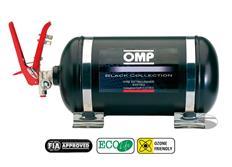OMP hasicí systém s man. spouštěčem a ocelovou nádobou, 4,25 litru BLACK COLLECTION