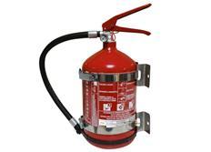 OMP ruční hasicí přístroj práškový 4 kg, ocelový
