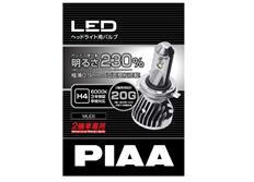 PIAA LED žárovka H4 pro motocykly, 12V/24V 6000 K