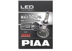 PIAA LED žárovka H7 pro motocykly, 12 V 6000 K