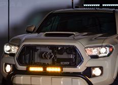 PIAA Světelná LED rampa RF6 o délce 15,24cm, žlutý mlhový světlomet