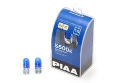 PIAA žárovky Stratos Blue 5500 T10 (W5W), bílé světlo 5500K, cena za pár (2 kusy)