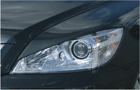 Milotec mračítka předních světlometů Škoda Octavia II Facelift ''Bad-Look''
