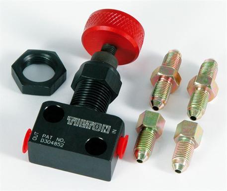 Regulátor brzdného účinku Tilton s připojením M10x1