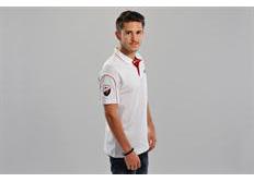 ABT Sportsline tričko s límečkem - bílé