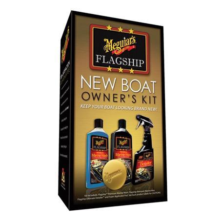 Meguiar's Flagship New Boat Owners Kit - výhodná sada lodní kosmetiky