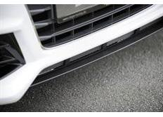 Rieger lipa pro Audi A3 8V pod kompletní přední nárazník 56790/1/2/3, Carbon-Look