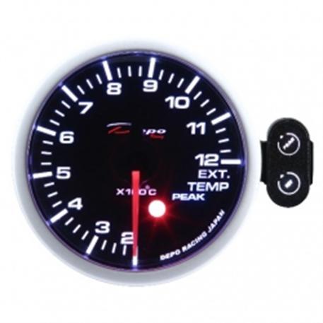 Přídavný budík Depo Racing - Teplota výfukových plynů (EGT)