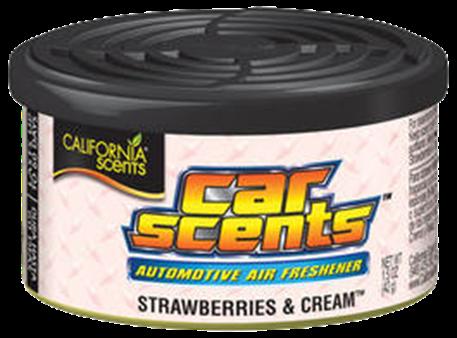 Osvěžovač vzduchu California Scents, vůně Car Scents - Jahody se šlehačkou